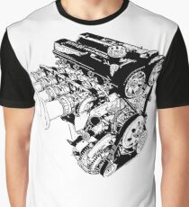 4AGE Racing Engine Motor Graphic T-Shirt