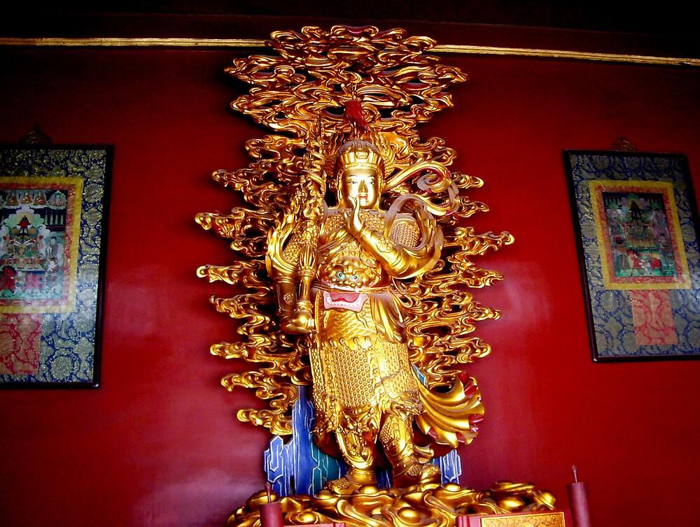 """Tibetan Temple . ."" by lurline"