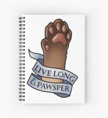 Live Long and Pawsper Spiral Notebook