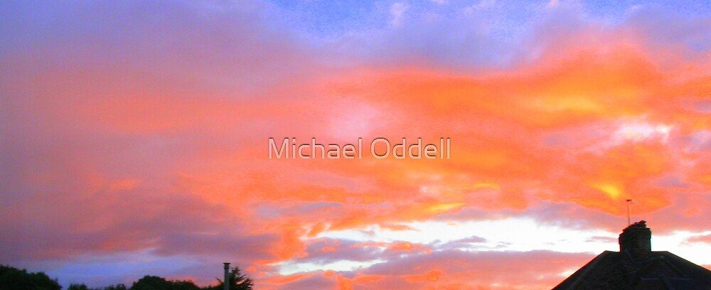 Sunset by Michael Oddell