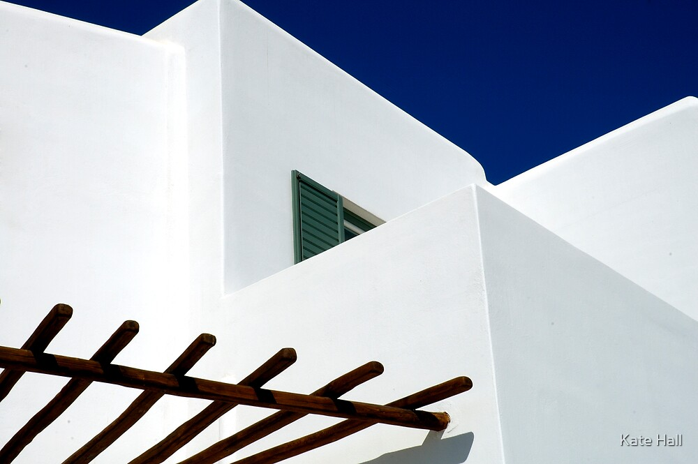 Mykonos Apartment, Greece by Kate Hall