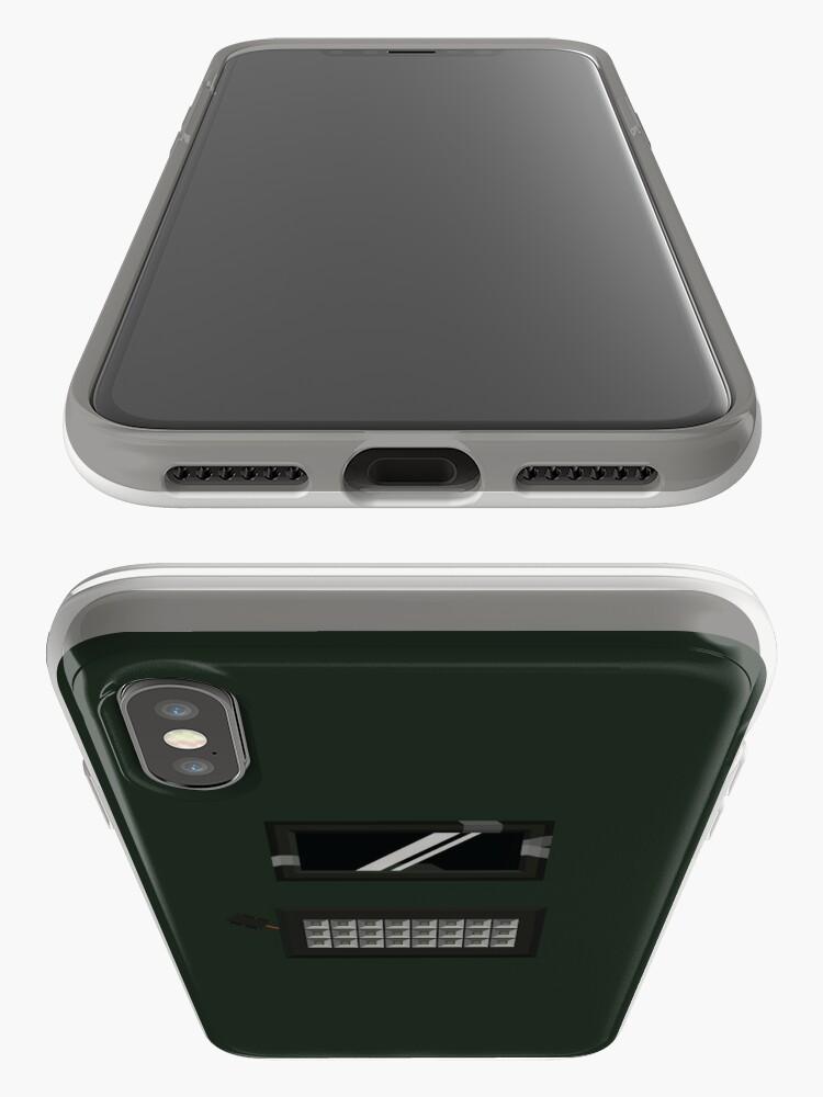 Alternative Ansicht von Blitz - Warte auf Flash! (Keine Beschriftung) iPhone-Hülle & Cover