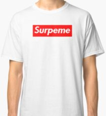 """Supreme """"Surpeme"""" Hypebeast Swag Classic T-Shirt"""