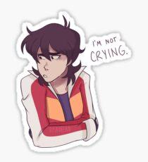 Angst Boy Sticker