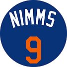 """Brandon Nimmo """"Nimms"""" by fallouthartley"""