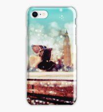 Birds, sea gulls - River thames view, London, Great Britain - England iPhone Case/Skin