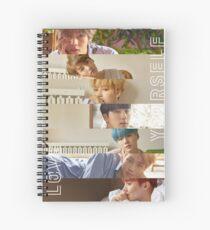 BTS LOVE YOURSELF HER L VERSION Spiral Notebook