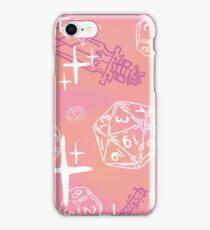 Pretty d&d for babes everywhere-Peaches iPhone Case/Skin