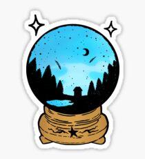 Crystal Ball Sticker - Mountain Witch Sticker