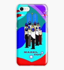 A Bar Mitzvah Design, Red Sea Parting iPhone Case/Skin