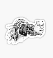 Have you ever questioned the nature of your reality? Sticker