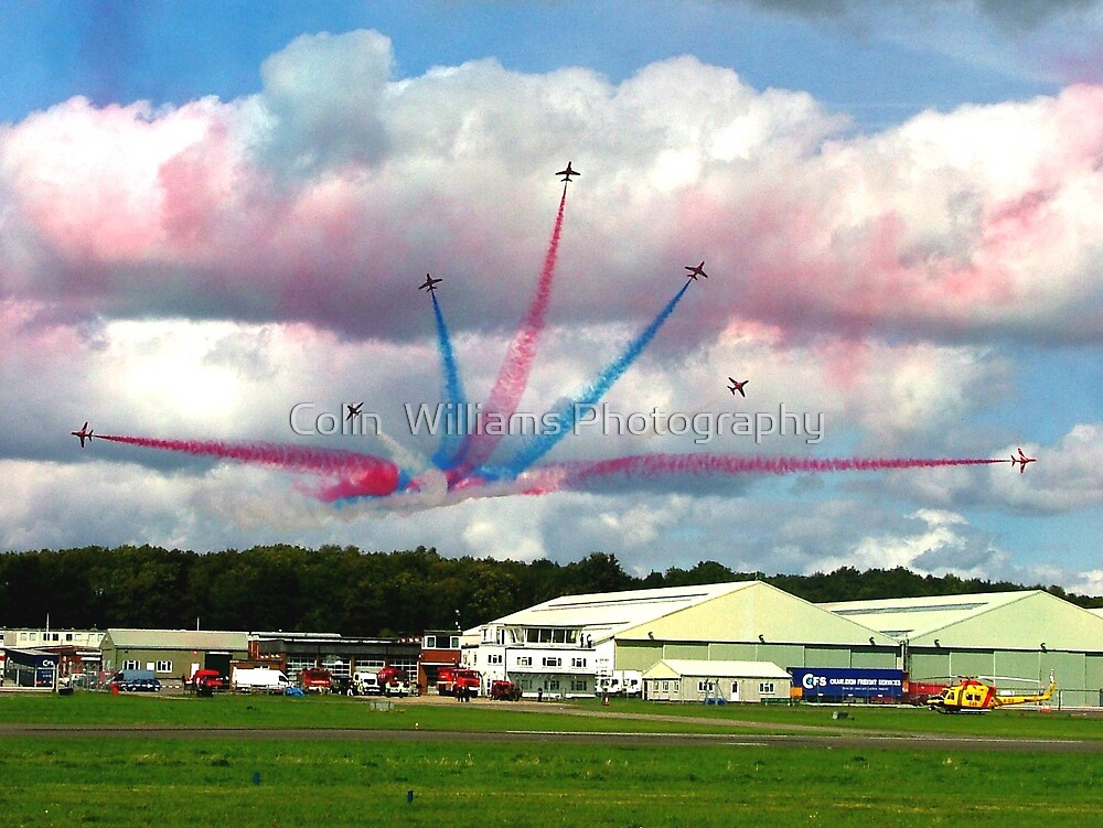 Break over the Top Gear Hanger by Colin  Williams Photography