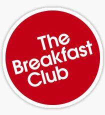 The Breakfast Club- Retro title Sticker