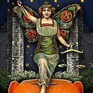 Halloween Angel - Trick Or Tarot by DuckSoupDotMe