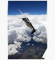 Flying With A Legend  Poster