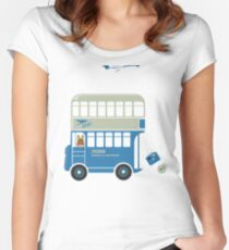BOAC Shuttle to Heathrow Women's Fitted Scoop T-Shirt