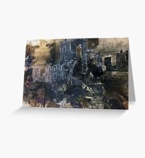 Architecture of Destruction Greeting Card