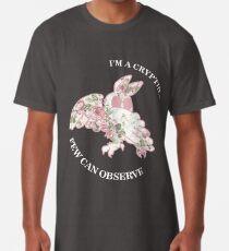 Ich bin ein Cryptid, das wenige beobachten können - Mothman Longshirt