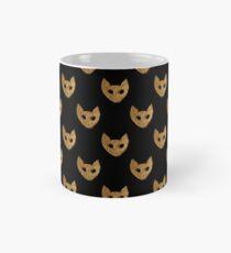 GOLD cat portrait Classic Mug