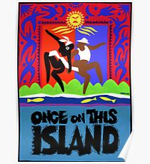 Once on This Island Musical Poster