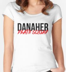 DANAHER DEATH SQUAD Women's Fitted Scoop T-Shirt