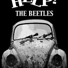HELP ! - THE BEETLES by Tsitra