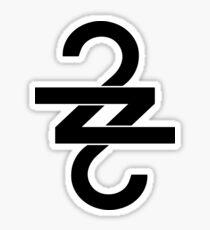 22 (OVER S∞∞N) Sticker