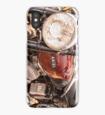 Ariel Motorcycle iPhone Case/Skin