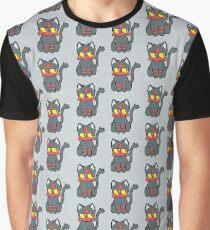 Litten Pattern Print Graphic T-Shirt