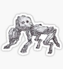 Panzerhund of war Sticker