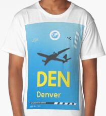 DEN Denver airport tag 2 Long T-Shirt