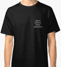 Treat People With Kindness (White) Classic T-Shirt