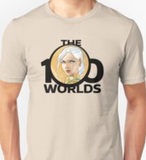 Lena (2) from 'The 100 Worlds. 26' (black logo) T-Shirt