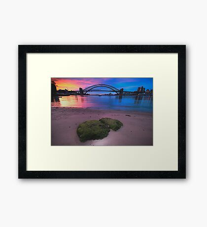 Fish Eye View - Moods Of A City - The HDR Series Framed Print