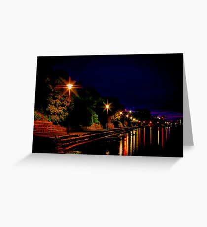 """Daybreak at Western Beach"" Greeting Card"