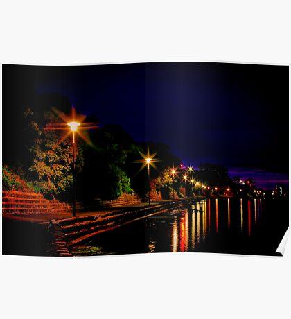 """Daybreak at Western Beach"" Poster"