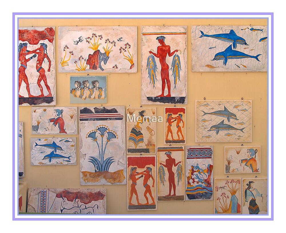 Greek Art Works by Memaa