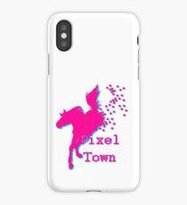 Pixel Town Merch iPhone Case