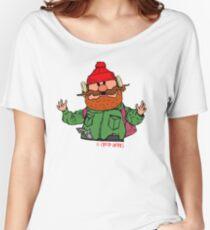 Yukon Cornelius Christmas Hero  Women's Relaxed Fit T-Shirt