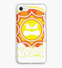 Angry Sun iPhone Case/Skin