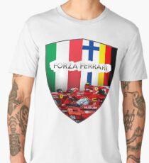 Forza Ferrari - Seb & Kimi Men's Premium T-Shirt
