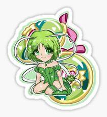 Tokyo Mew Mew Retasu + Lettuce Castanets Chibi Sticker
