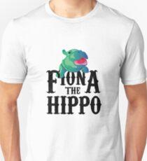 Team Fiona Die Flusspferdliebe Hippopotamuss Slim Fit T-Shirt