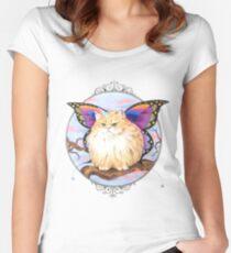 Unibuttercat Women's Fitted Scoop T-Shirt