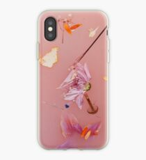 Harry's flowers iPhone Case