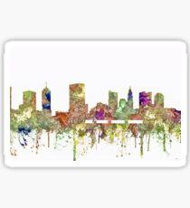 Columbus, Ohio Skyline SG - Faded Glory Sticker