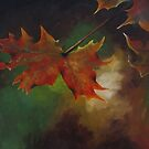 Autumn Leaves (card only) by Tanja Udelhofen