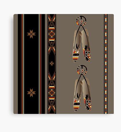 Lakota Design Canvas Print