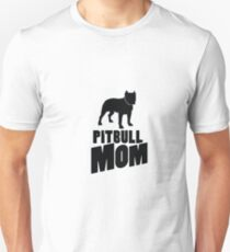 Pitbull Mom Dog Funny Pet puppy Gifts T-Shirt