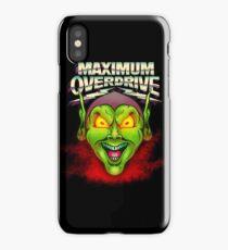 Maximum Overdrive iPhone Case/Skin